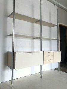 RARE Original 1960s CSS Shelving System by George Nelson for Herman Miller