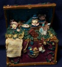 "Musical Ceramic Toy Box plays ""Toy Land"" 4.5x3x5.5"", wind-up, no battery needed"