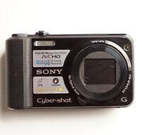 Sony CyberShot DSC-HX7V 16MP 1080P FHD GPS Black Digital Camera