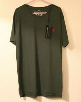SPYDER BNWT Spider T-shirt Top Size Xl Extra Large Green, Recycled Material
