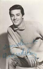 Autographe Original: ALAIN DELON / Vintage.