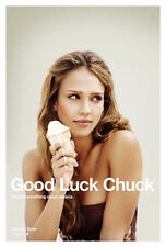 GOOD LUCK CHUCK (2007) ORIGINAL ADVANCE MOVIE POSTER   -  ROLLED