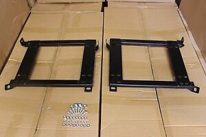2x Crank Motorsport BMW E36 E46 Seat adapter rail suit BRIDE RECARO SPARCO