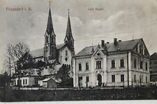 11196 AK Filippsdorf Böhmen Cafe Conditorei Rudolf 1915