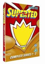 SuperTed Complete Series 1 2 3 Season 1-3 Region 2 DVD New (2 Discs)