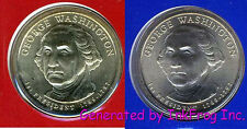 2007 Presidential P & D 8 Coin Satin Finish Gem Bu set from mint sets