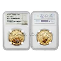 Great Britain 2010 Britannia 50 Pounds 1/2 oz Gold NGC PF69 ULTRA CAMEO