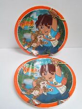 GO DIEGO GO PARTY DINNER PLATES - LOT OF 2 PACKAGES -  PARTY SUPPLIES