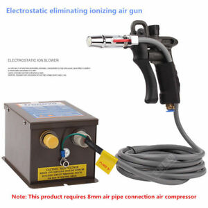 Industrial Ionizing Air Gun Electrostatic Eliminator Electrostatic Ion Blower