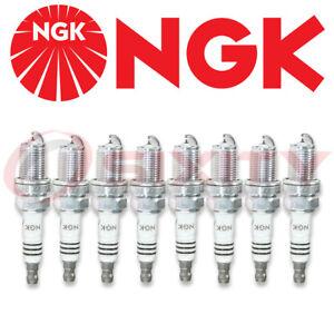 8 pcs - NGK Iridium IX Spark Plugs #6418 - Premium OEM Set BKR6EIX