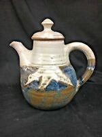 Vintage Studio Pottery Teapot, Signed