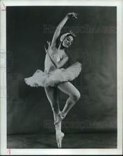 "1979 Press Photo Ballet dancer Cynthia Gregory in ""Swan Lake"" - hcp48916"