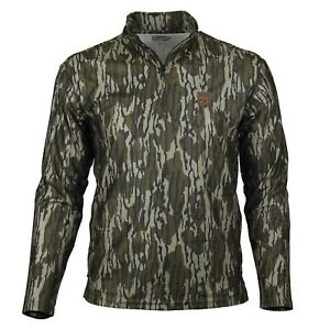 Gamekeeper Firebreak Quarter Zip Camo Hunting Shirt