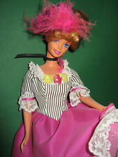 B345-Collector French Barbie Dolls of the world MATTEL 1997 neufs comme neuf