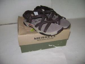 NIB MERRELL SAN REMO KIDS BOYS GIRLS SANDALS SHOES Size 1 M DARK BROWN