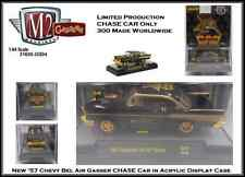 M2 Machines 1:64th Diecast CHASE Car '57 Chevy Bel Air Gasser in Display Case