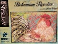 Lang Bohemian Rooster by Susan Winget  1000 Piece Jigsaw Puzzle FREE SHIPPING!!