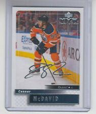 19/20 UD MVP Edmonton Oilers Connor McDavid 20th Anniversary Retro card #89