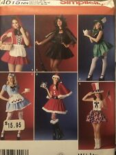 Simplicity 4015 Holiday Costumes And Cosplay Sz 10-16