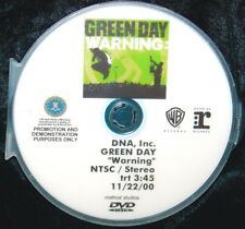 GREEN DAY Warning Record Company Promotional Music Video DVD Single (NOT A CD)