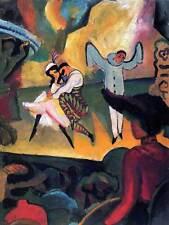 August MACKE RUSSO balletmacke Old Master Arte Pittura Stampa Poster 310omb