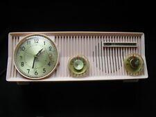 Vintage Pink Motorola tube-clock radio -for Repair -57 Cs