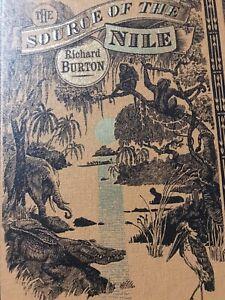 The Source Of The Nile Richard Burton Folio Society