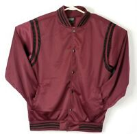 Original Deluxe Retro Style Bomber Jacket Varsity Jacket Mens Medium NWT