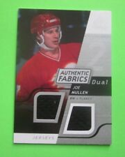 2008-09  SP Game Used Edition #AF-JM  Joe Mullen Authentic Fabrics Jersey Card