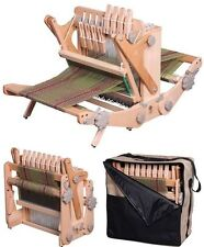 "Ashford Katie Table Loom 8 Harness 12"" weaving width with Storage Travel Bag"