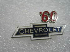 1960   Chevrolet Bowtie  Lapel Hat Pin Badge