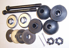 1963 - 1982 Corvette Spring Hardware Kit, 16 Piece, Rubber