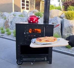 """Outdoor-Herd Brot&Pizzaofen """"Elise"""" Gartenkocher Gulaschkanone Terrassenofen"""