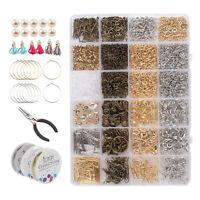 Ganci per orecchini 995 pezzi Kit fai da te per la fabbricazione di orecchini