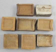 8 Stück original antik Kernseife Rumbo Atik Thuringia antique soap