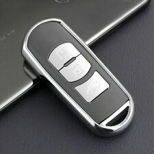 TPU Smart Key Fob Case Fit For Mazda 2 3 6 CX3 CX5 CX3 CX9 Accessories Silver