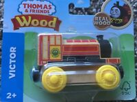 Fisher-Price Thomas & Friends Wooden Engine - Victor FHM18 NEW