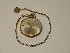 Taschenuhr Arctos Gold Double 20/000 - vintage - Handaufzug - mit Kette