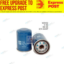 Wesfil Oil Filter WZ432 fits Toyota Celica 1.8 16V TS (ZZT231_)