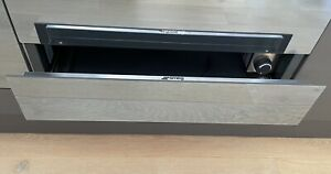 Smeg Limea Warming Drawer CTP1015S Silver Immaculate Condition