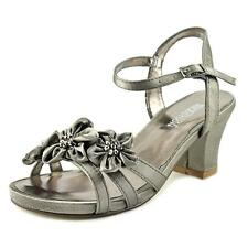 Shoes Kenneth Cole Reaction Pewter Dress Sandals  Youth  Girls Size 5
