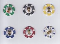 ^2009 Main Event POKER CHIPS #8 Mark Martin BV$4!!! NEAT COLLECTIBLE!
