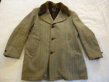 Men's Vintage Sears Oakbrook Sportswear Wool Blend Lined Coat Jacket (40)