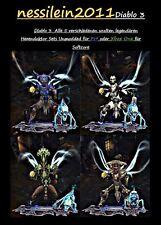 Diablo 3 RoS Ps4/Xbox One - Hexendoktor - Alle 5 Uralten Set's - 100% UNMODDED