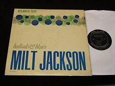 Milt Jackson-Ballads & Blues-ORIGINAL 1956 DG Black Label Atlantic LP-CLEAN!
