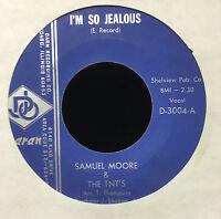 "Samuel Moore & The Tnt's - I'm So Jealous Mint- 7"" Chicago Northern Soul D-3004"