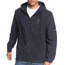 QUIKSILVER Men's DEEP SEA Zip Hoodie - BYP0 - Large - NWT