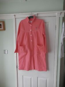 Gabriella Vicenza Size10 - 14 Pink Dressing Gown with Pockets, New without Label