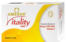 OMEGOR - VITALITY 1000 - 60perle - Omega 3