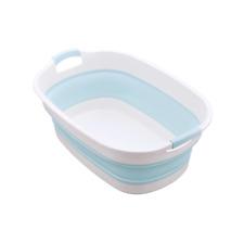 Bebé Baño Bañera, Bañera Infantil Plegable, sistema portátil del niño recién nacido 0-5Y